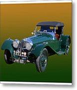 1937 Jaguar S S Onehundred  Metal Print
