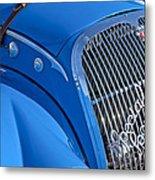 1937 Peugeot 402 Darl'mat Legere Special Sport Roadster Recreation Grille Emblem Metal Print