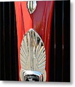 1937 Plymouth  Emblem Metal Print