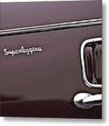 1938 Alfa Romeo 6c 2300 Touring Coupe Emblem Metal Print