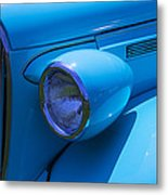 1938 Blue Plymouth Coupe Metal Print