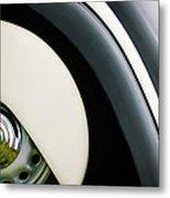 1938 Bmw 327 - 8 Cabriolet Rear Wheel Emblem -2668c Metal Print