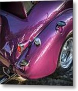1938 Chevrolet Coupe With Rumble Seat Metal Print