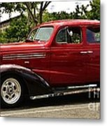 1938 Chevy 4 Door Sedan Metal Print