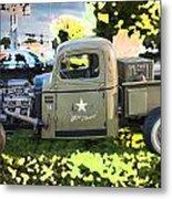 1938 Chevy Pick Up Truck Rat Rod Metal Print