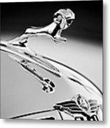 1938 Dodge Ram Hood Ornament -136bw46 Metal Print