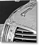 1938 Dodge Ram Hood Ornament 4 Metal Print