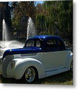 1938 Ford Coupe Hot Rod Metal Print