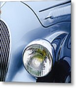 1938 Talbot-lago 150c Ss Figoni And Falaschi Cabriolet Headlight - Emblem Metal Print