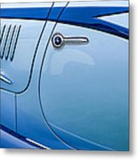 1938 Talbot-lago 150c Ss Figoni And Falaschi Cabriolet Side Door Handle Metal Print