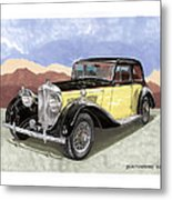 1939 Bentley Mark Four Sport Sedan Metal Print