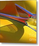 1939 Chevy Hood Ornament Metal Print