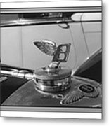 1939 M K 4 Bentley Flying B Mascot Metal Print