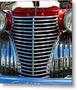 1940 Cadillac Coupe Front View Metal Print