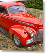 1940 Chevrolet 2 Door Sedan Metal Print