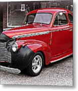 1940 Chevy Coupe Metal Print