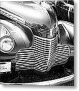 1940 Chevy Grill Metal Print