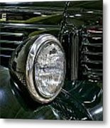 1940 Dodge Pickup Headlight Grill Metal Print