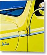 1940 Ford Deluxe Side Emblem Metal Print