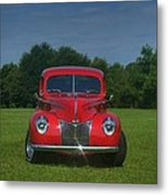 1940 Ford Deluxe  Metal Print