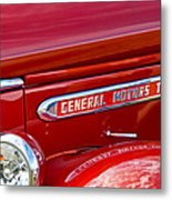 1940 Gmc Side Emblem Metal Print