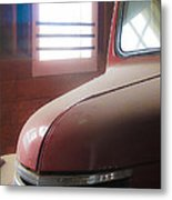 1940s Era Red Chevrolet Truck  Metal Print