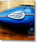 1940s Harley Tank Metal Print