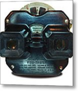 1940's View Master Stereoscopic Viewer Metal Print