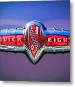 1941 Buick Eight Special Emblem Metal Print