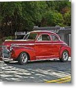 1941 Chevrolet 'super Deluxe' Coupe Metal Print