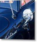 1941 Lincoln Continental Convertible Emblem Metal Print
