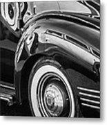 1941 Packard 110 Deluxe -1092bw Metal Print