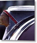 1941 Pontiac Hood Ornament Metal Print