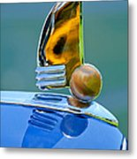 1942 Lincoln Continental Cabriolet Hood Ornament Metal Print