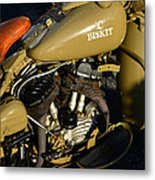 1942 Wla Harley Davidson Metal Print
