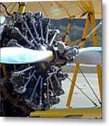 1943 Boeing Super Stearman Metal Print