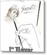 1946 Advertisement 1ere Marque Crayon Graphite Pencil Bagnol And Metal Print