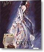 1946 Advertisement Molinard Orval Perfume Metal Print