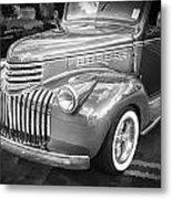 1946 Chevrolet Sedan Panel Delivery Truck Bw Metal Print