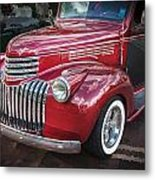 1946 Chevrolet Sedan Panel Delivery Truck  Metal Print