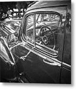 1946 Hudson Super Six Sedan Bw Metal Print