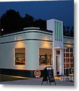 1947 Amoco Gas Station Metal Print