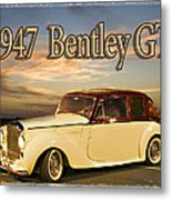 1947 Bentley Metal Print