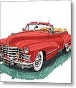 Cadillac Series 62 Convertible Metal Print