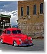 1947 Ford Coupe Metal Print