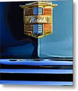 1947 Nash Surburban Hood Ornament Metal Print