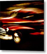 1947 Red Chevrolet Metal Print