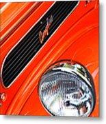 1948 Anglia 2-door Sedan Grille Emblem Metal Print