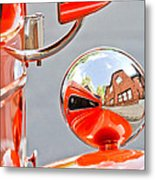 1948 Anglia Rear View Mirror -451c Metal Print