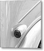 1948 Anglia Taillight -447bw Metal Print